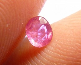 0.29cts Natural Burmese Ruby , Untreated Gemstone