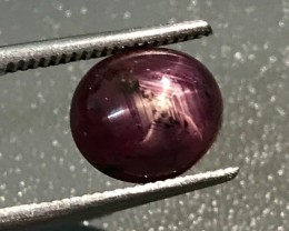 4.33 CT NATURAL STAR RUBY HIGH QUALITY GEMSTONE S23