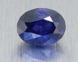 Natural Ceylon Deep Blue Sapphire, Oval Cut 2.11 Ct (00505)