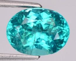 3.43 Cts Natural Blue Green Apatite Oval Cut Brazil Gem