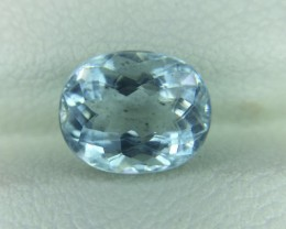 2.20 Ct Natural Aquamarine Awesome Luster and Cut Gemstone A25
