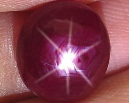 4.28 Carat Star Ruby - Superb