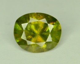 2.20 ct NATURAL GREEN  SPHENE