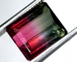 4.72CTS CERTIFIED PARTI-COLOR WATERMELON TOURMALINE  TBM-1299