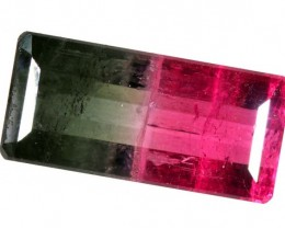 5.45CTS CERTIFIED PARTI-COLOR WATERMELON TOURMALINE  TBM-1301