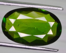 6.75 CT NATURAL BEAUTIFUL CHROME DIOPSIDE GEMSTONE
