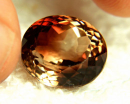 19.4 Carat Golden Brown Fancy VVS Topaz - Gorgeous