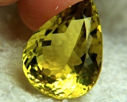 28.42 Carat African VVS Lemon Quartz - Gorgeous