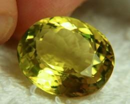 21.46 Carat VVS African Lemon Quartz - Beautiful