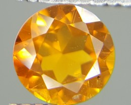 0.44 Crt Natural Citrin  Faceted Gemstone (M 423)
