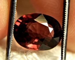 5.53 Carat VVS Red Southeast Asian Zircon - Superb