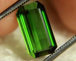 3.12 Carat VS Green Nigerian Tourmaline - Beautiful