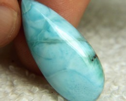 29.38 Carat Polished Larimar Pendant Stone - Beautiful