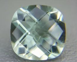 2.50 Crt Natural Prasiolite Green Amethyst Faceted Gemstone (M 44)
