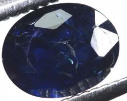 1.15CTS UNHEATED CERTIFIED AUSTRALIAN BLUE SAPPHIRETBM-1303-truebluemineral