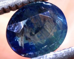 0.83CTS UNHEATED CERTIFIED AUSTRALIAN BLUE SAPPHIRE GEMSTONE TBM-1304
