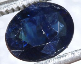 1.36CTS  UNHEATED CERTIFIED AUSTRALIAN BLUE SAPPHIRE GEMSTONE TBM-1305