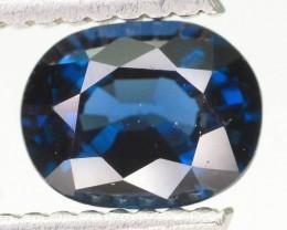 Royal Blue 1.01 ct Pamir Blue Spinel Tajikstan SKU.1