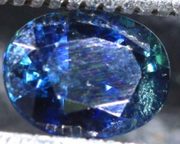 0.81CTS UNHEATED AUSTRALIAN BLUE SAPPHIRE CERTIFIED TBM-1312