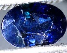0.98CTS UNHEATED AUSTRALIAN BLUE SAPPHIRE CERTIFIED TBM-1316