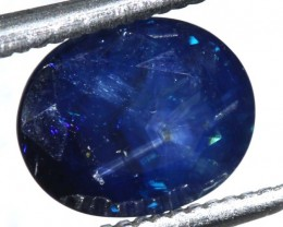 2.78CTS UNHEATED AUSTRALIAN BLUE SAPPHIRE FACETED CERTIFIED PG-2229