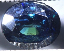 2.74CTS UNHEATED AUSTRALIAN BLUE SAPPHIRE FACETED CERTIFIED PG-2227