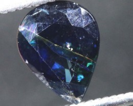 1.65CTS UNHEATED AUSTRALIAN BLUE SAPPHIRE FACETED CERTIFIED PG-2236