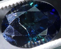 2.76 CTS UNHEATED AUSTRALIAN BLUE SAPPHIRE FACETED CERTIFIED PG-2240