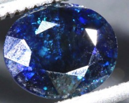1.94 CTS UNHEATED AUSTRALIAN BLUE SAPPHIRE FACETED CERTIFIED PG-2247