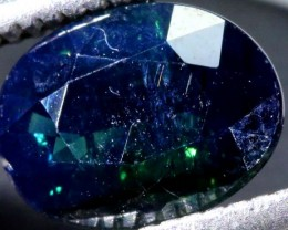 1.52 CTS UNHEATED AUSTRALIAN BLUE SAPPHIRE FACETED CERTIFIED PG-2250