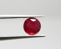 Natural Ruby - 0,64 carats - Unheated / Untreated