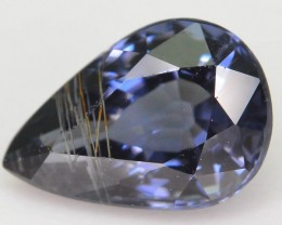 Rare 1.09 ct Natural Rutile Blue Spinel ~ Tajikstan SKU.1