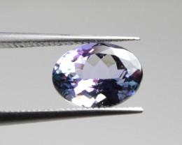 Natural Tanzanite - 1,40 carats - Gemstone