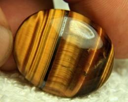 45.9 Carat Tiger Iron Eye Cabochon - Beautiful