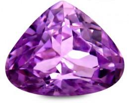 3.30 ct PGTL Certified Extraordinary Pear Shape Pink Kunzite