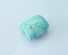 Sell 18ct High Quality Turquoise Bracelet Bead, Charm Bead For Bracelet Des