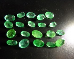 6.35cts  Emerald Parcel, 100% Natural Gemstone