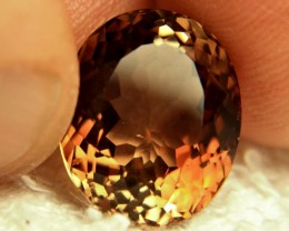 14.55 Carat VVS Golden Brazil Topaz - Gorgeous