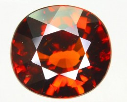 Fire Breathing Gil Certified 8.72 ct Untreated Zircon Cambodia  SKU.2