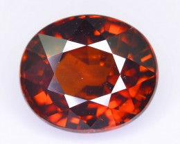 GiL Certified 8.68 ct Hyacinth Imperial Zircon Cambodia  SKU.2