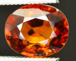 Gil Certified 9.41 ct Untreated Zircon Cambodia  SKU.2