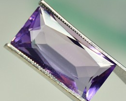 6.5 CTS NATURAL AMETHYST SUPERB LSUTER AND SHAPE AFRICA~~