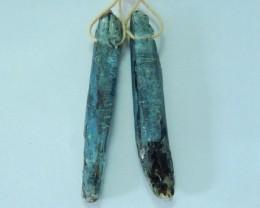31ct Nugget Blue Kyanite Earrings For Women,Fashion Jewelry Making(17072510