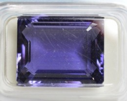 Natural Iolite - 13.93 carats - Unheated / Untreated