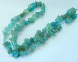 180ct ,40cm In The Length,Natural Apatite Rough Loose Beads For Necklace,Di
