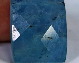 33.50CT Natural - Unheated Blue Aquamarine gemstone