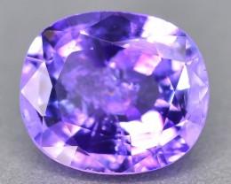 Gil Cert Purple Tanzanite 1.36 ct Rare SK