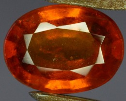 3.9 Crt Natural Hessonite Garnet From Africa.