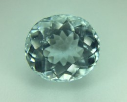 3.10 Ct Natural Aquamarine Colorless ~ Skardu A32