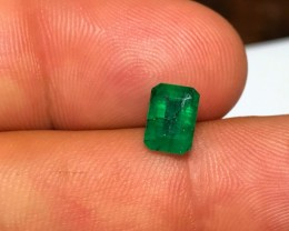 1.20 cts DARK GREEN EMERALD - NO TREATMENTS - BRAZILIAN